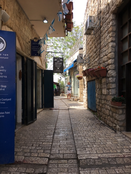Street in Safed